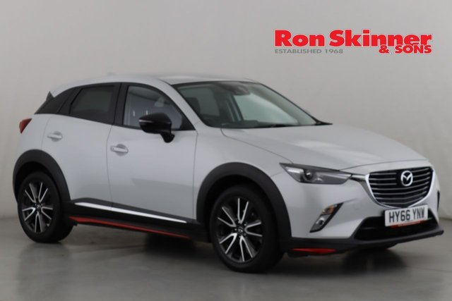View our 2016 66 MAZDA CX-3 2.0 SPORT NAV 5d 118 BHP