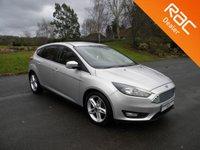 USED 2017 17 FORD FOCUS 1.5 ZETEC TDCI 5d 118 BHP Nice Size 5 Door Hatchback, Sat Nav, Alloy Wheels, Bluetooth