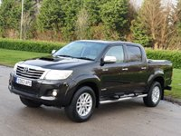 2013 TOYOTA HI-LUX 3.0 INVINCIBLE 4X4 D-4D DCB 169 BHP SOLD