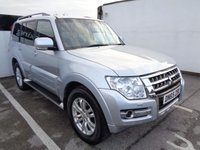 USED 2015 65 MITSUBISHI SHOGUN 3.2 DI-D SG3 5d 187 BHP 4x4 awd 4wd Satellite navigation 7 seats panoramic roof half leather seats climate control alloy wheels
