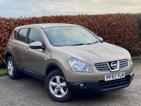 USED 2007 57 NISSAN QASHQAI 1.6 ACENTA 5d * ONE OWNER FROM NEW * BUILT IN BLUETOOTH HANDSFREE *