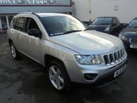 USED 2011 61 JEEP COMPASS 2.0 LIMITED 5d 154 BHP