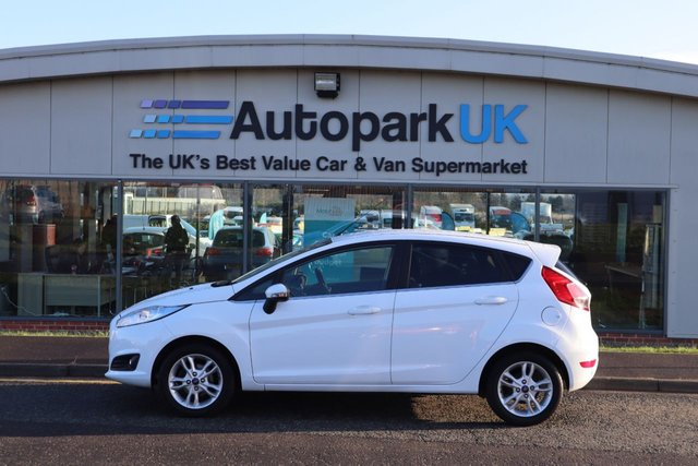 USED 2014 64 FORD FIESTA 1.2 ZETEC 5d 81 BHP LOW DEPOSIT OR NO DEPOSIT FINANCE AVAILABLE