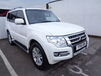 USED 2016 16 MITSUBISHI SHOGUN 3.2 DI-D SG3 5d 187 BHP 4x4 awd 4wd Satellite navigation 7 seats sunroof privacy glass leather trim parking sensors climate control supplied with full mot