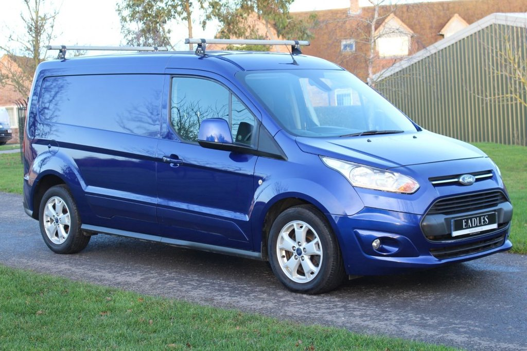 USED 2016 16 FORD TRANSIT CONNECT 1.6 240 LIMITED P/V 114 BHP * NO VAT LIMITED BLUE -  WARRANTY INCLUDED * READY TO GO