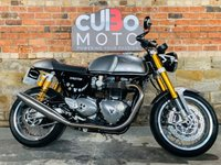 USED 2016 65 TRIUMPH THRUXTON 1200 R ABS  Remus Exhausts