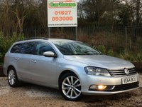 USED 2014 64 VOLKSWAGEN PASSAT 2.0 EXECUTIVE TDI BLUEMOTION TECHNOLOGY DSG 5dr Sat Nav, Heated Leather, PDC