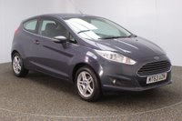 USED 2013 63 FORD FIESTA 1.2 ZETEC 3DR 81 BHP FULL SERVICE HISTORY + £30 12 MONTHS ROAD TAX + BLUETOOTH + MULTI FUNCTION WHEEL + AIR CONDITIONING + DAB RADIO + ELECTRIC WINDOWS + ELECTRIC MIRRORS + ALLOY WHEELS