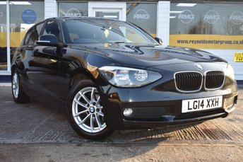 2014 BMW 1 SERIES 1.6 116D EFFICIENTDYNAMICS BUSINESS 5d 114 BHP £8499.00