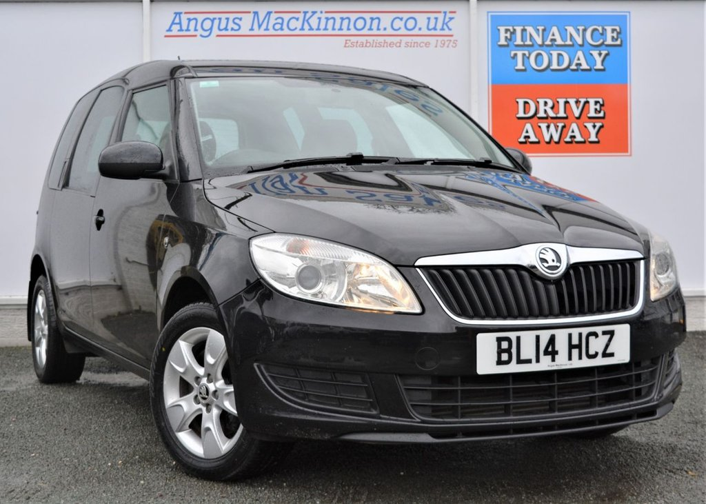 USED 2014 14 SKODA ROOMSTER 1.6 SE TDI CR 5d 105 BHP PREVIOUSLY LOCALLY OWNED