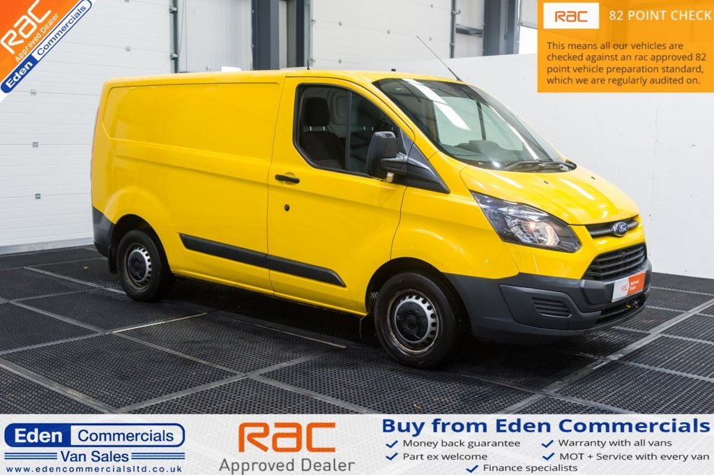 USED 2015 65 FORD TRANSIT CUSTOM 2.2 310 LR P/V 124 BHP
