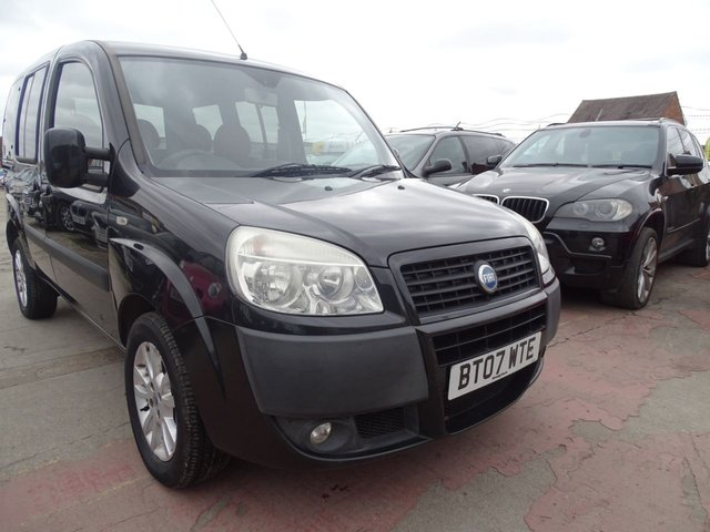USED 2007 07 FIAT DOBLO 1.9 JTD DYNAMIC 5d VERY GOOD SERVICE HISTORY