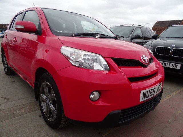 USED 2010 59 TOYOTA URBAN CRUISER 1.3 VVT-I 5d 100 BHP IMMACULATE CONDITION