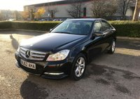 USED 2012 62 MERCEDES-BENZ C CLASS 2.1 C200 CDI BLUEEFFICIENCY EXECUTIVE SE 4d 135 BHP