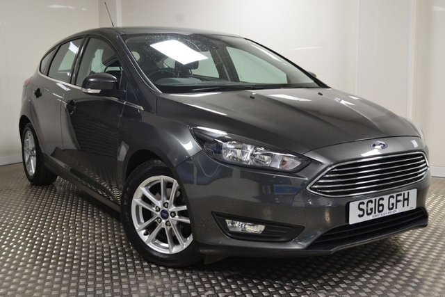 USED 2016 16 FORD FOCUS 1.5 ZETEC TDCI 5d 118 BHP VERY VERY LOW MILEAGE FORD FOCUS