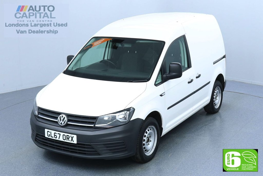 USED 2017 67 VOLKSWAGEN CADDY 2.0 C20 TDI STARTLINE 101 BHP SWB EURO 6 ENGINE VOICE CONTROL, FRONT HEATED SCREEN