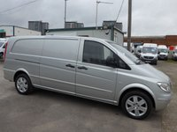 USED 2008 08 MERCEDES-BENZ VITO 2.1 115 CDI EXTRA LONG 146 BHP [EURO 5]