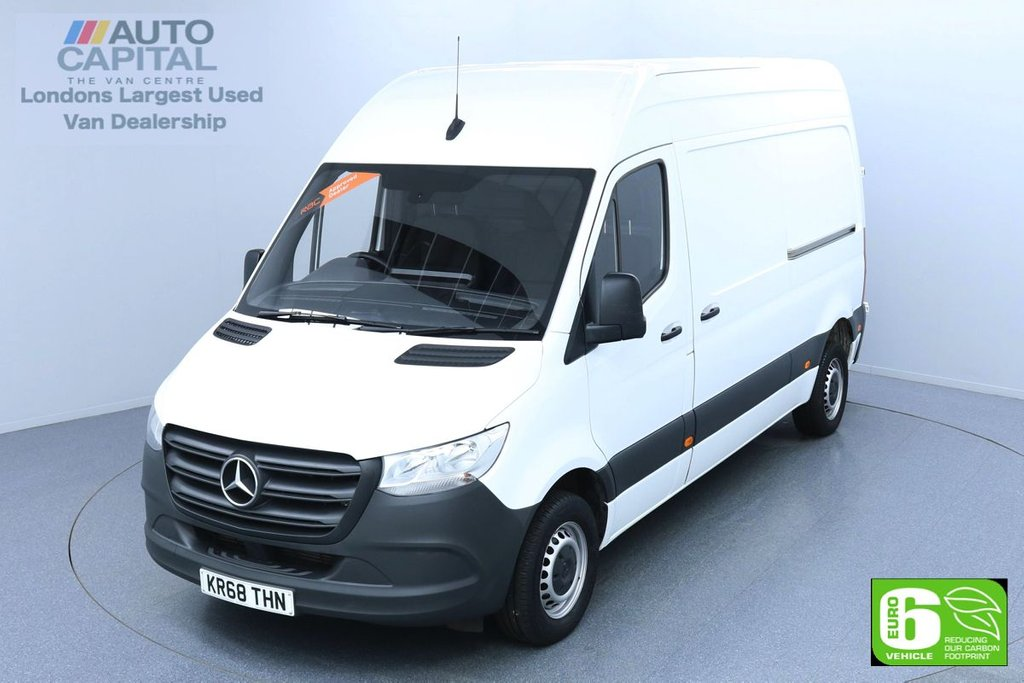 USED 2018 68 MERCEDES-BENZ SPRINTER 2.1 314 CDI 141 BHP MWB EURO 6 ENGINE KEYLESS START | VOICE CONTROL | CRUISE CONTROL