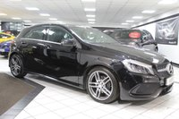 USED 2016 16 MERCEDES-BENZ A CLASS A 180 AMG LINE PREMIUM 121 BHP 1 LADY OWNER FMBSH NAV LED CAM