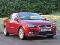 2007 FORD FOCUS 2.0 CC3 2d 135 BHP £2490.00