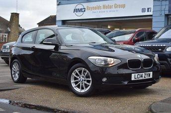 2014 BMW 1 SERIES 2.0 118D SE 3d 141 BHP £8499.00
