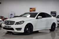 USED 2012 62 MERCEDES-BENZ C CLASS 1.6 C180 BLUEEFFICIENCY AMG SPORT 2d AUTO 154 BHP STUNNING FANTASTIC VALUE C180! MUST BE SEEN!