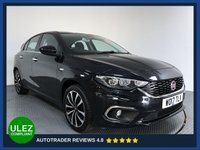 USED 2017 17 FIAT TIPO 1.4 LOUNGE 5d 94 BHP FULL SERVICE HISTORY - 1 OWNER - SAT NAV - REAR SENSORS - CAMERA - AIR CON - BLUETOOTH - DAB - CRUISE