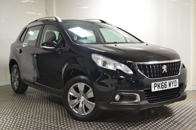 USED 2016 66 PEUGEOT 2008 1.6 BLUE HDI ACTIVE 5d 100 BHP STUNNING NEW MODEL 2008
