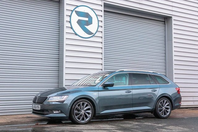 USED 2016 66 SKODA SUPERB 2.0 LAURIN AND KLEMENT TDI DSG 5d 188 BHP