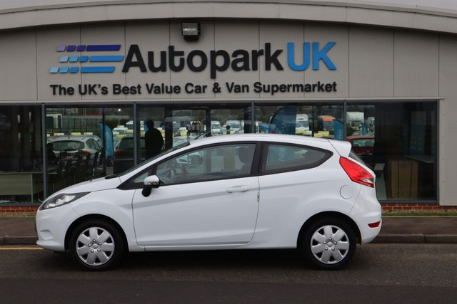 USED 2010 10 FORD FIESTA 1.2 EDGE 3d 59 BHP LOW DEPOSIT OR NO DEPOSIT FINANCE AVAILABLE