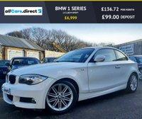 USED 2013 13 BMW 1 SERIES 2.0 118D M SPORT