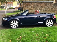 USED 2004 04 AUDI TT 3.2 ROADSTER V6 QUATTRO 2d 247 BHP