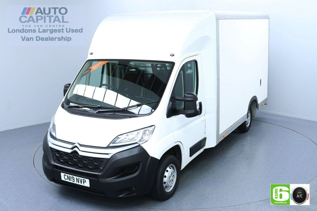 USED 2019 19 CITROEN RELAY 2.0 35 Bluehdi 161 BHP LWB Euro 6 Low Emission Finance Packages Available | Air Con | Low-Floor Luton