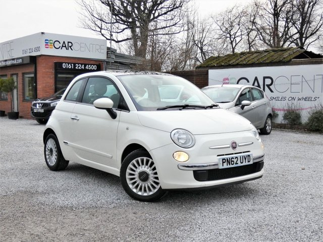 USED 2012 62 FIAT 500 1.2 LOUNGE 3d 69 BHP 2 PRV OWNERS + FULL SERV HIST