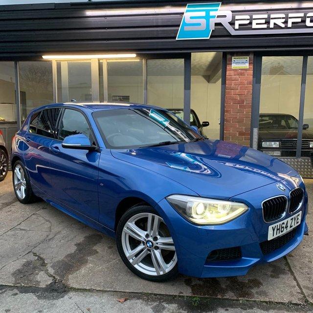 2014 64 BMW 1 SERIES 2.0 120D XDRIVE M SPORT 5d 181 BHP