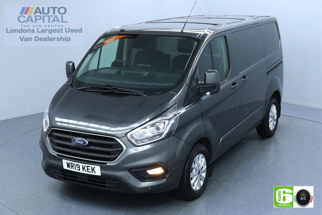 USED 2019 19 FORD TRANSIT CUSTOM 2.0 300 LIMITED L1 H1 129 BHP EURO 6 ENGINE AIR CON | PARKING SENSORS | ALLOY WHEEL | HEATED FRONT SEATS