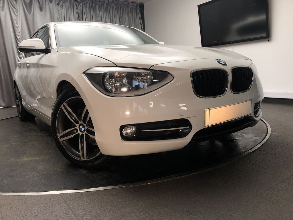 USED 2012 12 BMW 1 SERIES 1.6 116I SPORT 5d 135 BHP FREE UK DELIVERY, AIR CONDITIONING, AUX INPUT, BLUETOOTH AUDIO & TELEPHONE CONNECTIVITY, CLIMATE CONTROL, DRIVE PERFORMANCE CONTROL, HEATED DOOR MIRRORS, START/STOP SYSTEM, STEERING WHEEL CONTROLS, TRIP COMPUTER