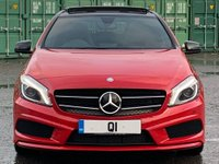 USED 2013 13 MERCEDES-BENZ A CLASS 2.1 A220 CDI BlueEFFICIENCY AMG Sport 7G-DCT 5dr NightPack/PanRoof/Bi-Xenon/AMG