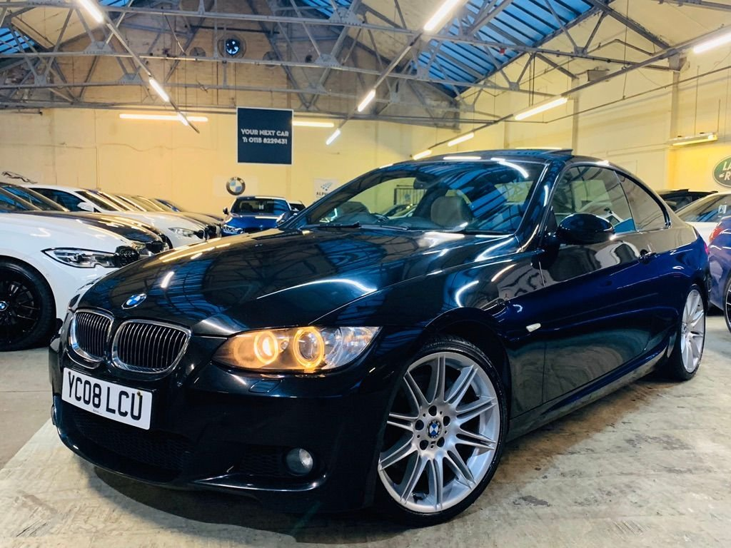 USED 2008 08 BMW 3 SERIES 3.0 335i M Sport 2dr SUNROOF NAV EXTENSIVE SERVICE