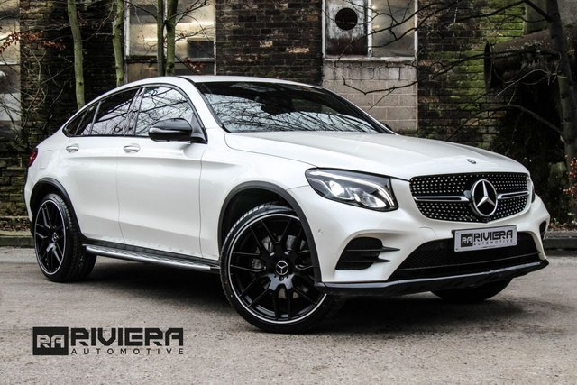 2017 66 MERCEDES-BENZ GLC-CLASS 2.1 GLC 250 D 4MATIC AMG LINE PREMIUM PLUS 4d 201 BHP