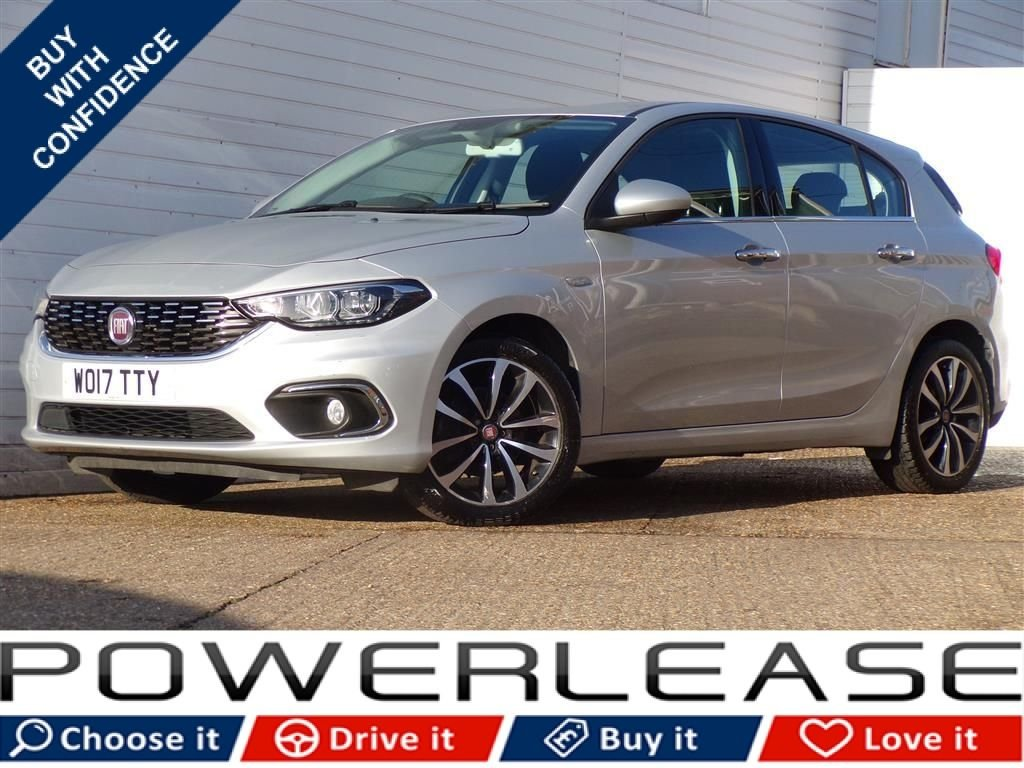 USED 2017 17 FIAT TIPO 1.4 LOUNGE 5d 94 BHP CHOICE OF 6 AVAILABLE IN STOCK