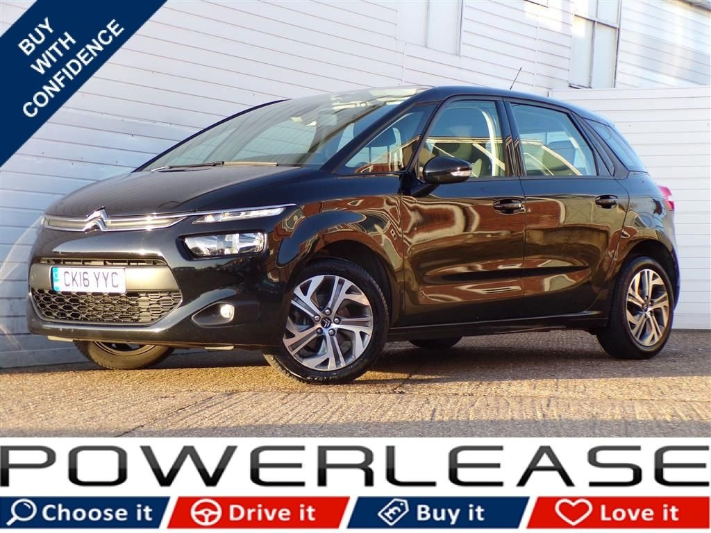 USED 2016 16 CITROEN C4 PICASSO 1.6 BLUEHDI VTR PLUS 5d 98 BHP FREE ROAD TAX EURO 6 1 OWNER