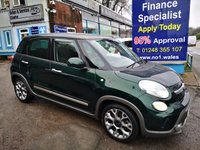 2014 FIAT 500L 1.6 MULTIJET TREKKING 5d 120 BHP, only 12000 miles, one owner from new £7495.00