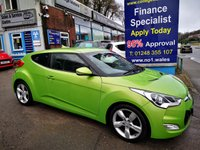 USED 2013 13 HYUNDAI VELOSTER 1.6 GDI 4d 138 BHP, only 61000 miles, 2 Owners *** ONLY 2 OWNERS FROM NEW ***
