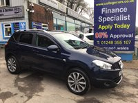 USED 2012 12 NISSAN QASHQAI 1.5 TEKNA DCI  5d 110 BHP, only 41000 miles, 3 owners  *** SAT NAVIGATION ***