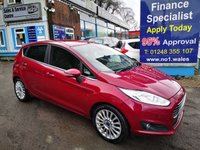 USED 2013 13 FORD FIESTA 1.0 TITANIUM 5d 99 BHP, only 41000 miles, 2 owners from new *** ONLY 2 OWNERS FROM NEW ***