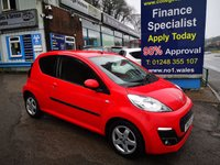 USED 2013 13 PEUGEOT 107 1.0 ALLURE 3d 68 BHP, only 34000 miles, One owner from new *** ONE OWNER FROM NEW ***