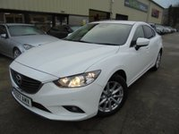 USED 2017 17 MAZDA 6 2.2 D SE-L NAV 4d 148 BHP Only One Owner, FSH, Low Rate Finance Available, No Deposit Necessary, Part Exchange Welcomed