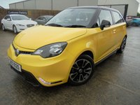 USED 2016 MG 3 1.5 3 STYLE LUX VTI-TECH 5d 106 BHP Excellent Condition, Great Value Coupe, No Deposit Needed, Part Ex Welcomed