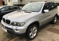 USED 2005 55 BMW X5 3.0D SPORT 5DR AUTO 218 BHP, £5,500 WORTH OF FACTORY EXTRAS SAT NAV, JUST SERVICED WITH 12 MONTHS MOT